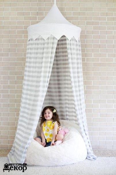 Детский шатер-тент своими руками (6 фото) - картинка