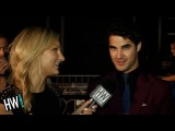 Darren Criss Talks Demi Lovato on 'Glee' & 'Music is Medicine' Cause!