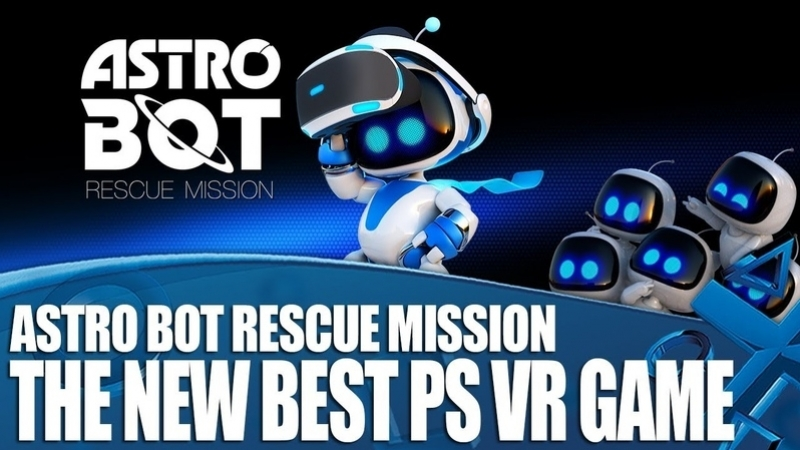PSVR Astro Bot Эволюция платформера - VR GAMECLUB Хабаровск