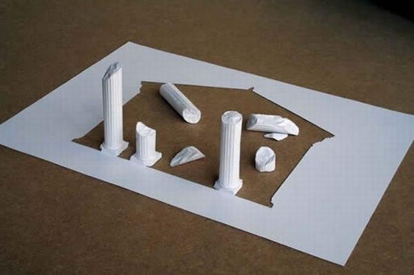 Бумажные скульптуры Peter Callesen Zv8ice1UeHo