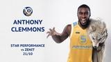 VTBUnitedLeague • Star Performance. Anthony Clemmons vs Zenit - 26 PTS, 10 AST & 28 EFF!