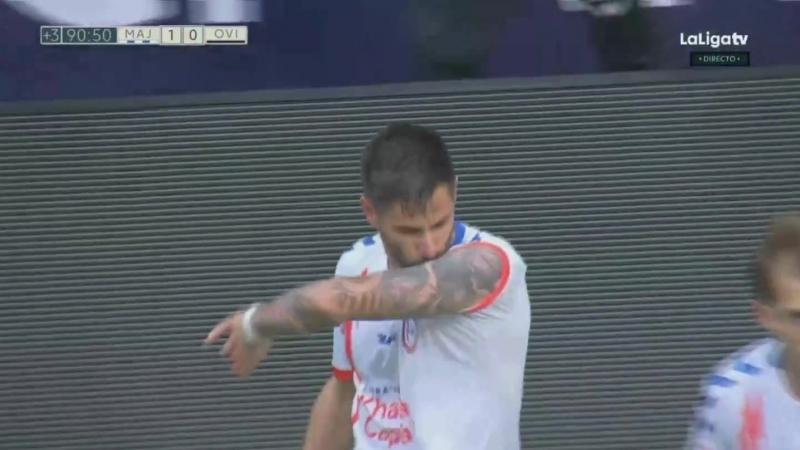 CF Райо Махадаонда - Реал Овьедо, 1-0, гол Лусо, голевая Федерико Варелы
