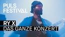 RY X feat. Münchner Rundfunkorchester live beim PULS Festival 2016 Full Concert