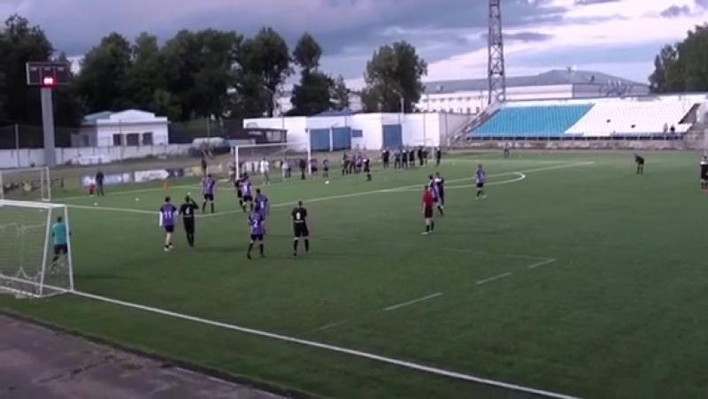 Гол Дмитрия Дмитриева в ворота Яриса с передачи Уртюшева А.