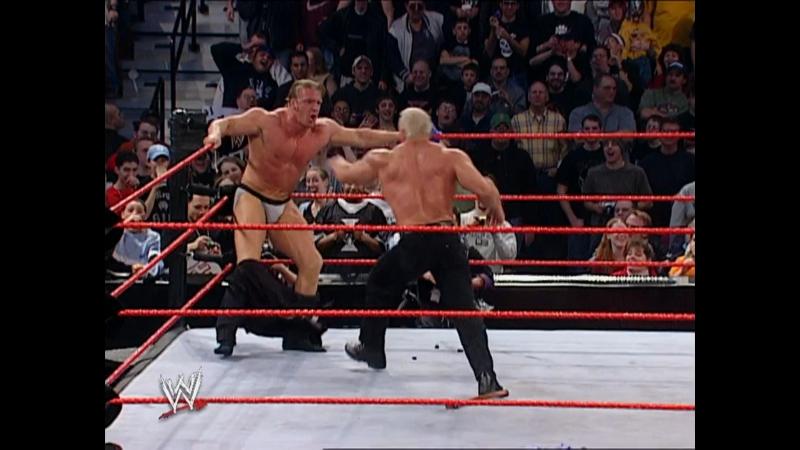 Stream! WWE Monday Night Raw 13 января 2003 c участием Скотта Штайнера, Игрока, Батисты и других звезд