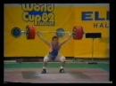Благой Благоев , абсолютный рекорд в рывке 195.5 кг , в весе 90 кг , чемпионат мира 1982 год