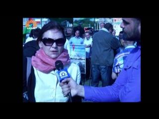 Azeri Sahar Tv | Всемирный марш на Иерусалим (Umum dunya Qudus yurusu ) [www.ya-ali.ws]