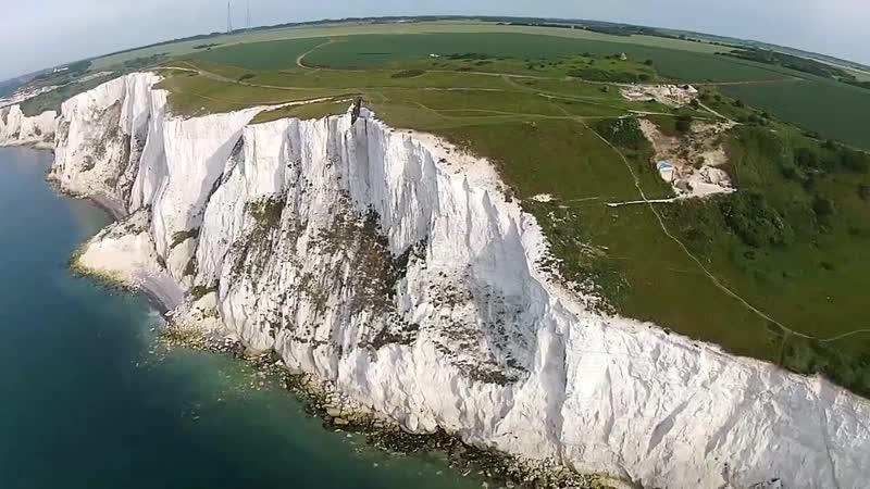 Chalk-mountains Меловые скалы Дувра - Англия