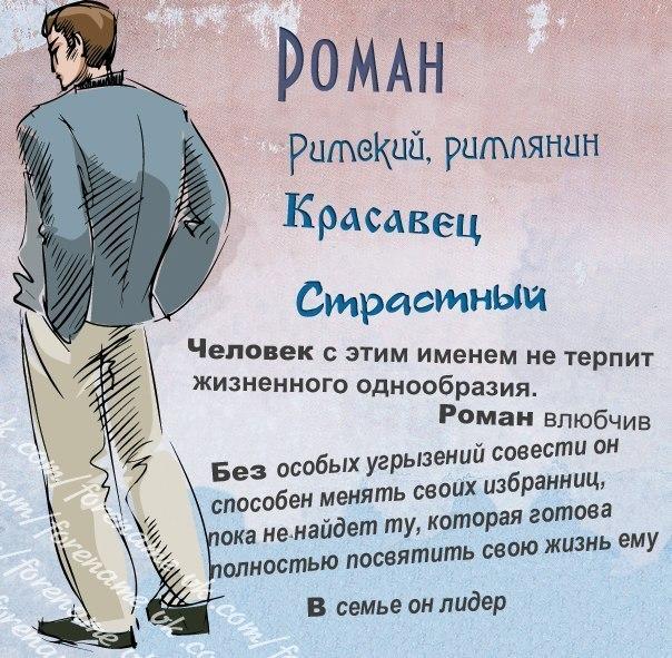 значения мужских имён: