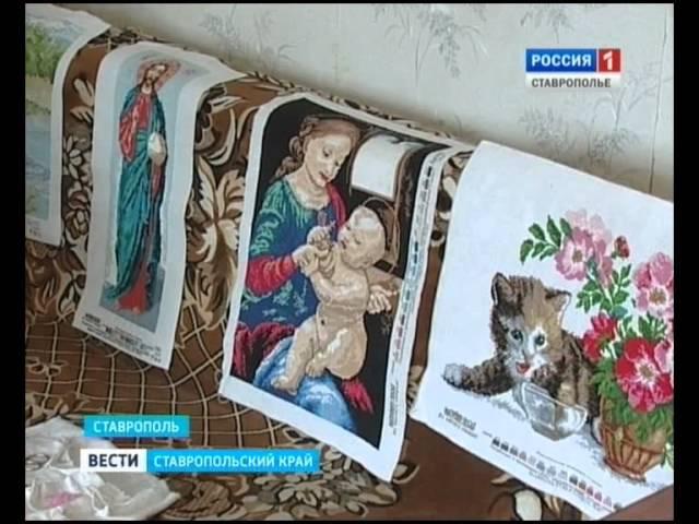 Ставропольская мастерица создает картины из бисера