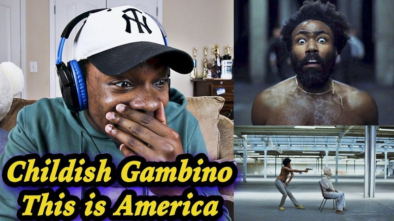 WHY AM I CRYING Childish Gambino This Is America Official Video REACTION Jamal Haki