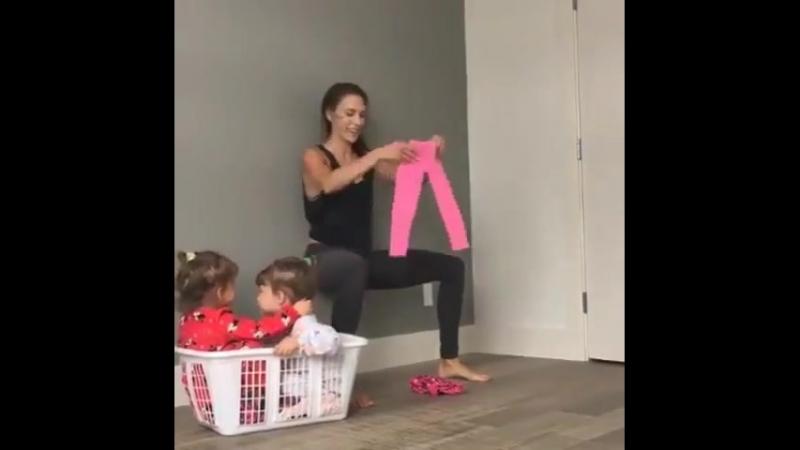 Как быть спортивной мамой
