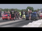 BoostedGT vs KC Maxx Turbo Trans Am at the Lone Survivor street drags