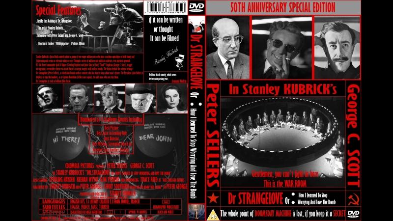 Доктор Стрейнджлав, или Как я научился не волноваться и полюбил атомную бомбу 1964 . 720p Перевод R5 VHS