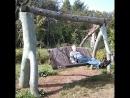 Качели-сказка в мастерской Наследие леса . Представьте себе, какой разбег они берут в юном месяце апреле? наследиелеса сказ