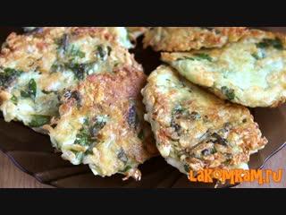 Что приготовить из картошки Картофельные драники с сыром. Рецепт на завтрак.