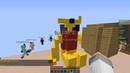 Minecraft BuildBattle №1 (MiniGames №3) Медведь и Летающая свинка!