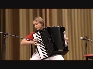 Аккордеон Елены Зыбо, Французский вальс (Пешков)