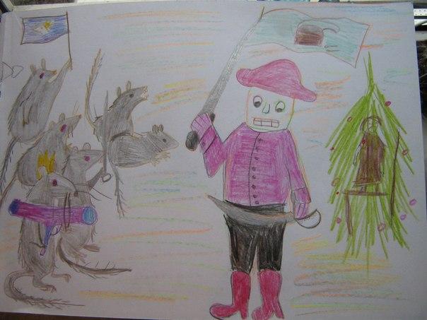 а можно девочка нарисует щелкунчика, я девочек не умею рисовать. зато хорошо