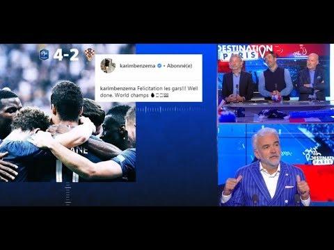 Champions du Monde : Pelé et Benzema s'expriment... Zidane reste muet!! 16/7