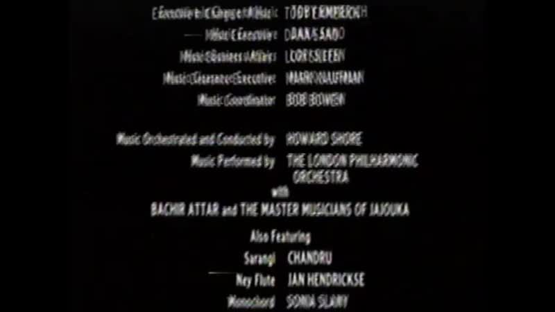 Movie End Credits 184 The Cell