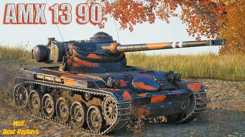 AMX 13 90 : Он Умеет Играть на ЛТ 1vs4 * Редшир