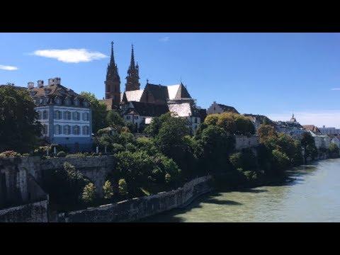 Базель, Швейцария. Июль 2017