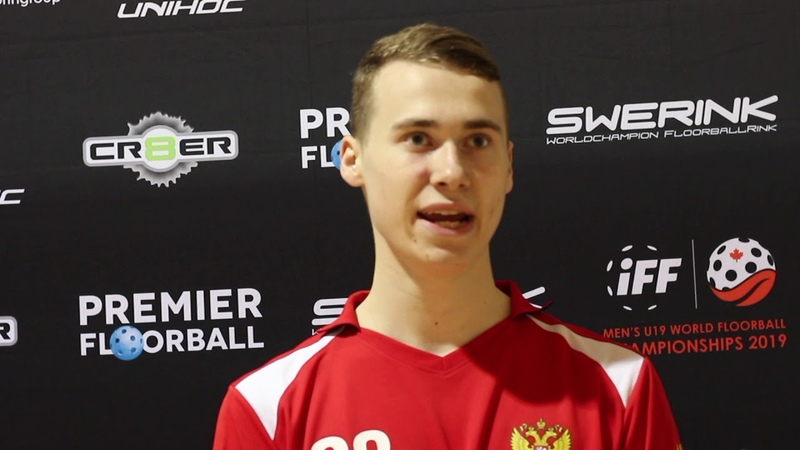 2019 Men's U19 WFC - Vladimir Churkin (RUS) - Post Game Interview