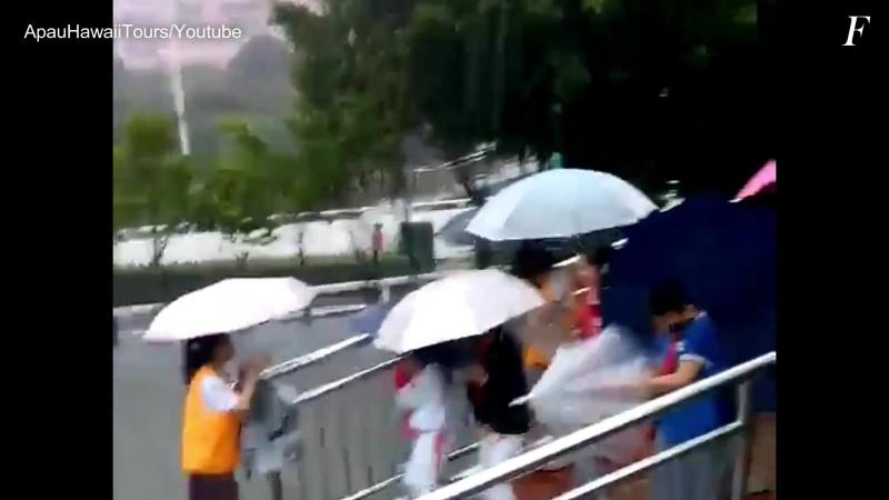Паводок в городе Сямынь, Китай ¦ Flood in Xiamen, China 07.05.2018