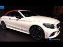 2019 Mercedes AMG C Class Cabriolet - Exterior and Interior Walkaround - 2018 New York Auto Show