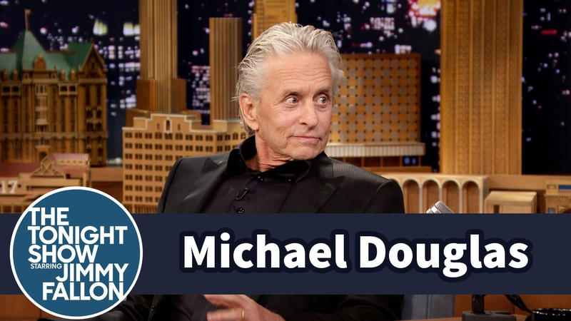 Michael Douglas Wet His Pants on Johnny Carson's Tonight Show