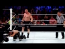 Brock Lesnar vs Seth Rollins Battleground 2015 Highlights