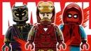 LEGO Marvel Studios минифигурки новая фанатская серия фильмы