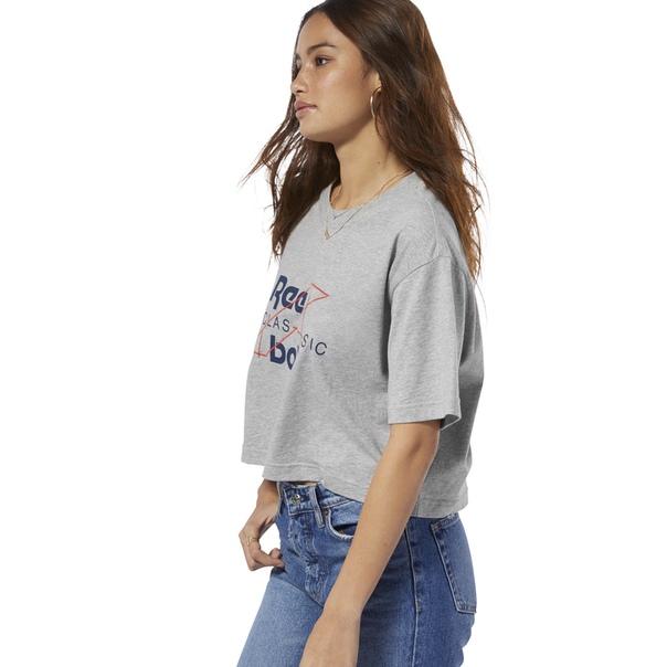 Укороченная футболка Reebok Classics