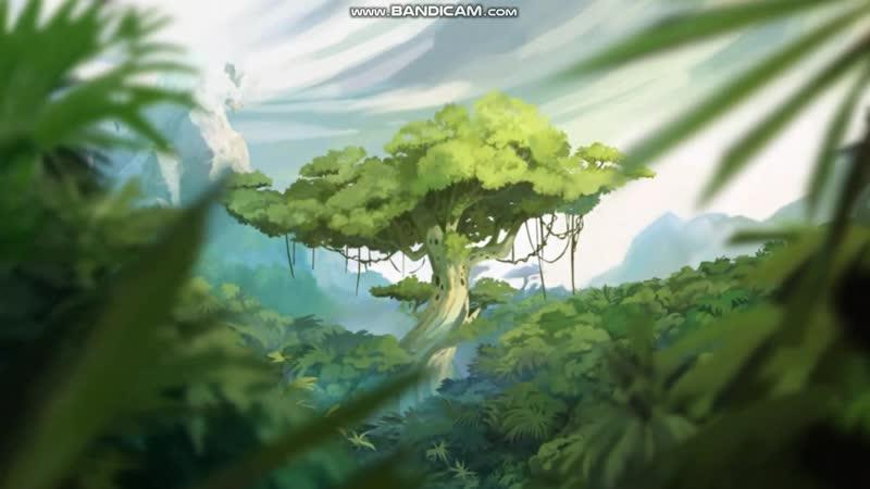 Rayman Origins часть 1: Тарабарские Джунгли