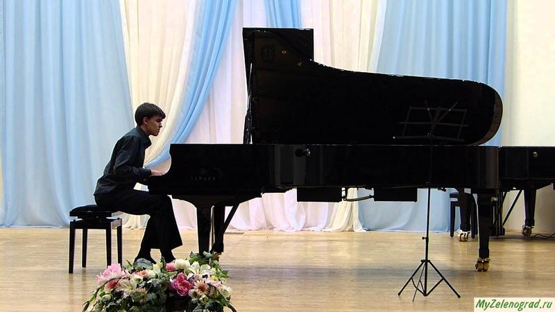 Р. Шуман. Три интермеццо, Op. 4. Исполняет Артем Ослин