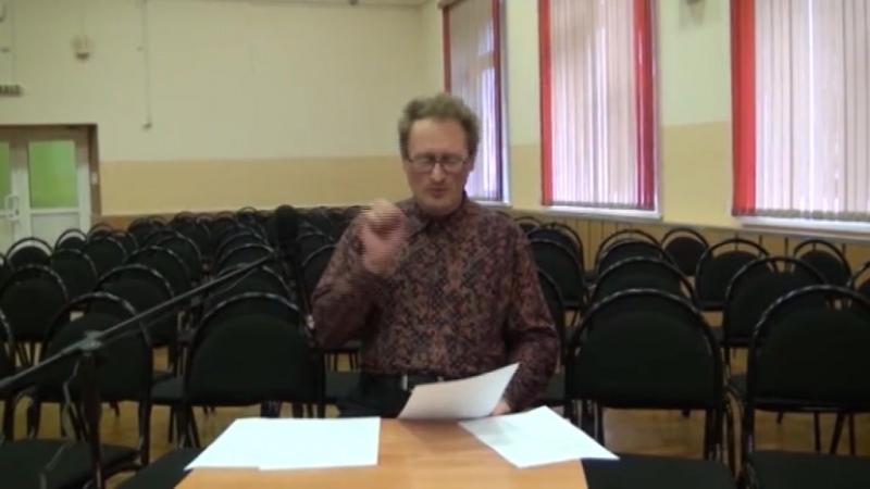 ШКОЛА 656. Учитель немецкого языка и поэт Сергей Юрьевич Ковригин читает собственное стихотворение о Волге для Поэтической гости
