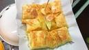 Тайская уличная еда - Блины с манго и бананом | Thai street food - Pancakes with mango and banana