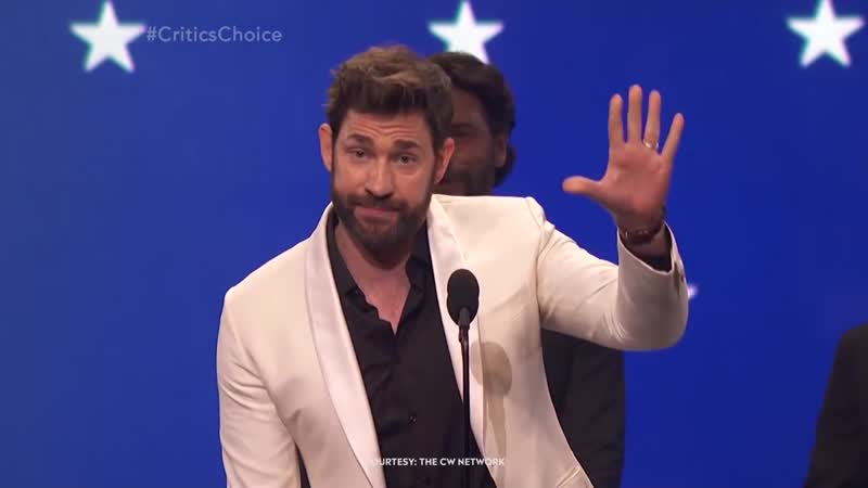 John Krasinski and Emily Blunt | CRITICS CHOICE AWARDS 2019