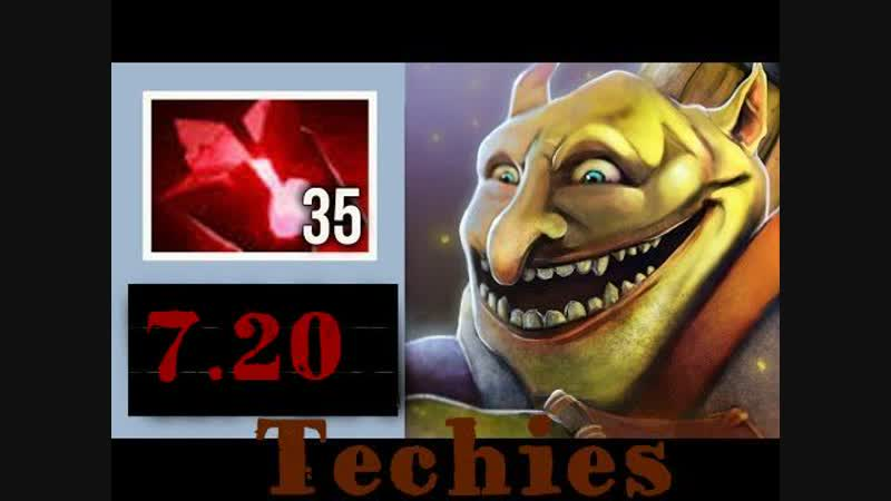 Гамаем в Dota 2 на минере-Goblin Techies20-ПАРТЧЬ ПОДЬЕХАЛ,БЛАДСТОУН 200% РЕГЕН МАННЫ