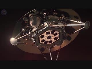 Космический аппарат InSight готовится к посадке на Марс