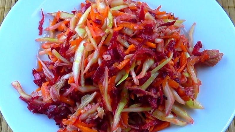Салат легкий для похудения Результат шокирует! Light Salad for weight loss! The result is shocked!
