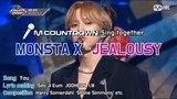 YT23.04.2018 MCD Sing Together MONSTA X - JEALOUSY Karaoke ver.