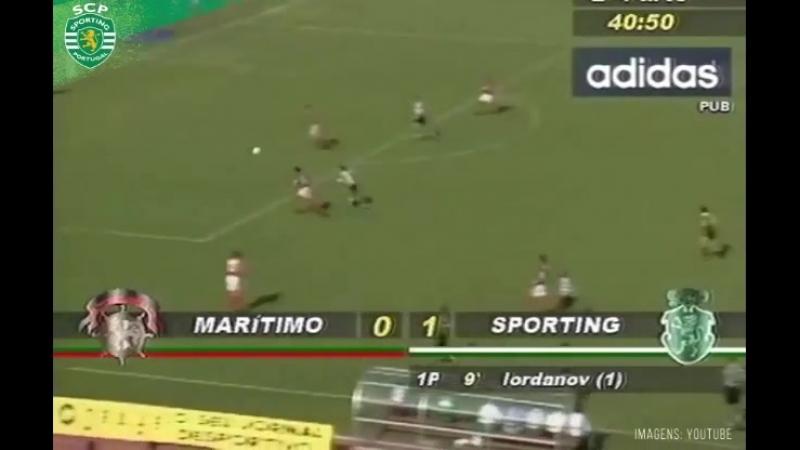 Дубль Ивайло Иорданова «Маритиму» в финале Кубка Португалии 1995