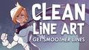 Clean Line Art Digital Inking Tips