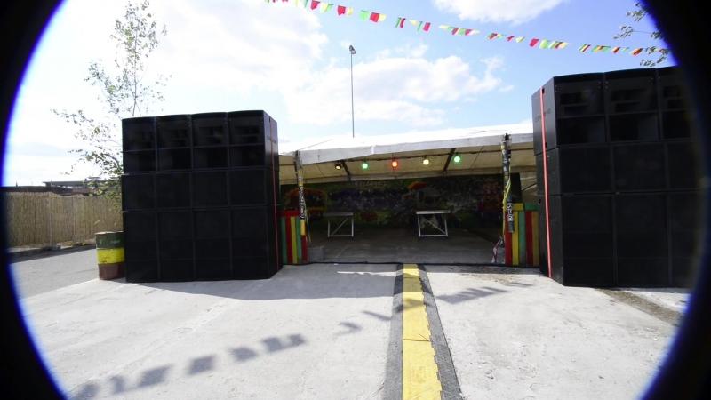 Lion's Den Sound System @ Reggaebus 2018 / Belgium