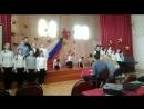 Наше выступление на конкурсе военной песни