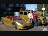 Shmee150! GOLD! Cars You Wont Miss - New Brabus G 700 and Ferrari 458 VLOG