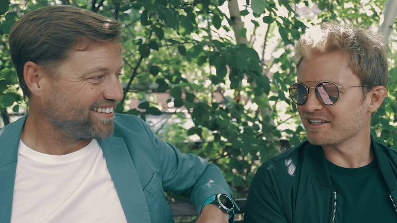 Alex Thomson meets Nico Rosberg in New York City   BOSS
