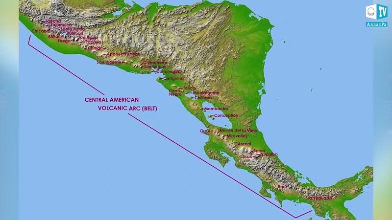 Катастрофа. Внезапное извержение вулканов Гватемала и Гавайи
